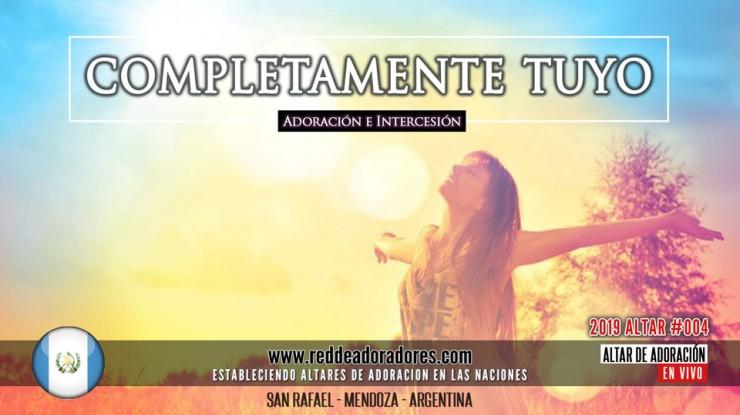 Completamente Tuyo || Altar #004 (2019)