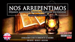 Nos Arrepentimos: Déjanos Mantener Nuestras Lámparas Encendidas || Altar #013 (Inglatera)