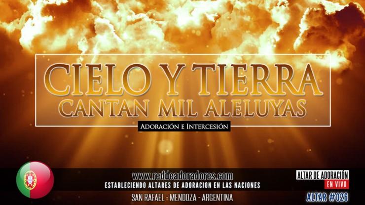 Cielo y Tierra Cantan Mil Aleluyas || Altar 2019 (026) Portugal