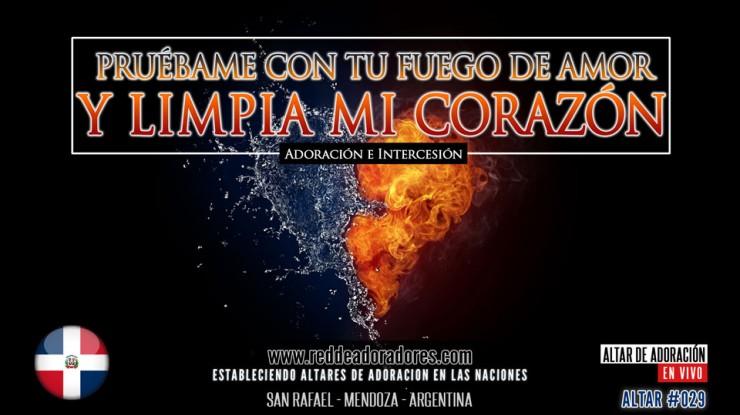 Pruébame Con Tu Fuego De Amor y Limpia Mi Corazón || Altar 2019 (029) Republica Dominicana