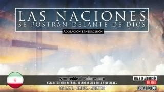 Las Naciones Se Postran Delante De Dios || Altar 2019 (039) Iran