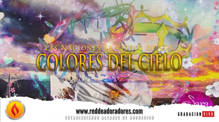 Las Naciones Se Vistan De Los Colores Del Cielo