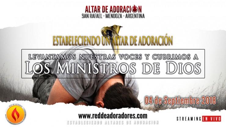 Levantamos Nuestras Voces y Cubrimos a los Ministros de Dios
