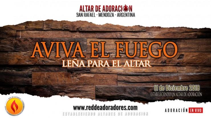 Aviva El Fuego || Leña Para El Altar