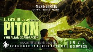 El Espíritu de Pitón y Un Altar de Adoración