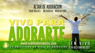 Vivo Para Adorarte || Altar de Adoración (En Vivo)