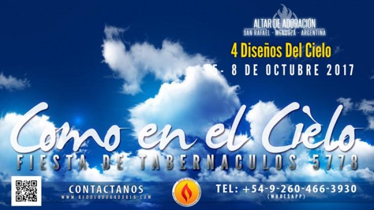 Fiesta de los Tabernaculos 5778 || Altar de Adoración