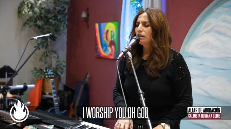 I Worship You Oh God || Salmista Doriana Goins