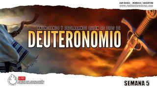 DEUTERONOMIO || Estableciendo Su Nombre En La Tierra Semana #05