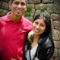 Andy Gonzales y Maribel Llashac